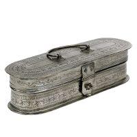 Schatulle Silber 23,5cm x 7,5cm H6,5cm