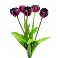 Tulpenstrauß 43cm Violett