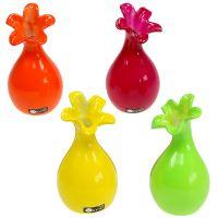 Vase Mini Vasen 4-farbig sortiert 14cm 4St