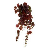 Weinlaub Hänger Grün, Dunkelrot 100cm