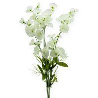 Wicke künstlich Weiß 75cm 3St