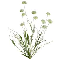 Wiesenblumen Weiß L60cm 3St