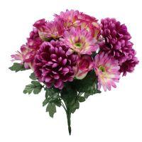 Deko-Blumenstrauß Lila H42cm B32cm