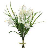 Deko-Blumenstrauß Weiß 28cm