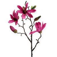 Magnolien Zweig Pink 45cm 4St