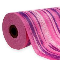 Manschettenpapier 25cm 100m Rosa, Pink