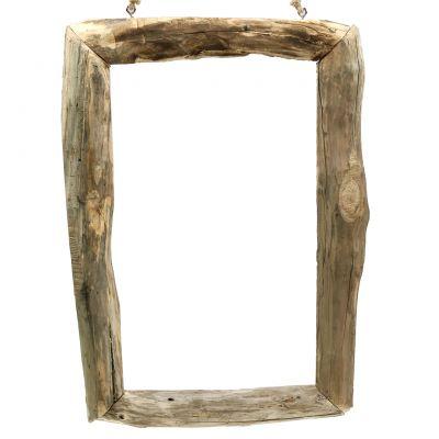 Holzrahmen Natur zum Hängen 59cm x 42cm