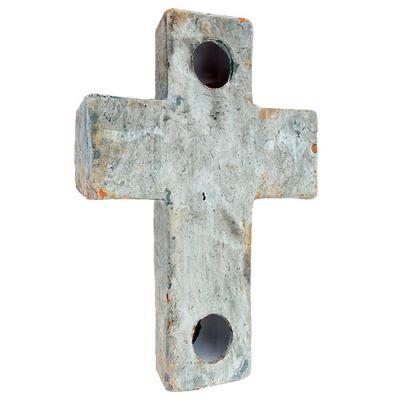 Keramikkreuz mit Gedenktext 17,5cm 4St