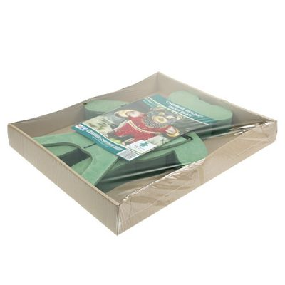 Oasis® Steckschaum Figur Teddy 48,5cm x 42cm H5cm