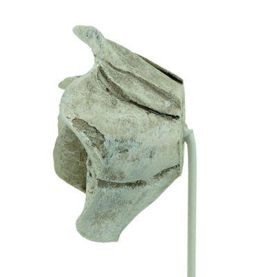 Stecker Rosen sort. Ø5,5cm L19cm 4St