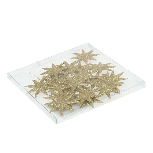 Deko Sterne Gold 5cm 20st Gro Handel Und Lagerverkauf