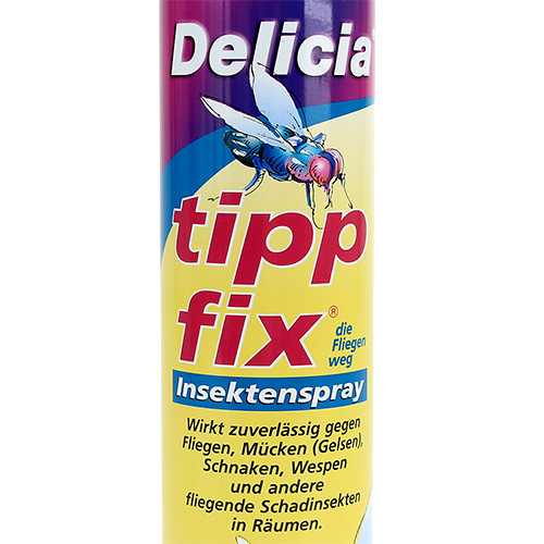 delicia tipp fix insektenspray 400ml gro handel und lagerverkauf. Black Bedroom Furniture Sets. Home Design Ideas