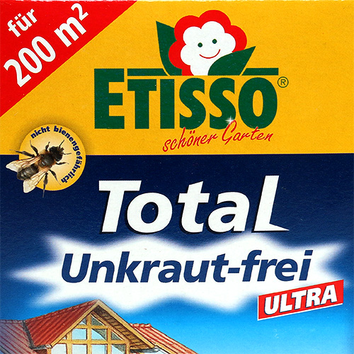 etisso total unkraut frei ultra 100ml gro handel und. Black Bedroom Furniture Sets. Home Design Ideas