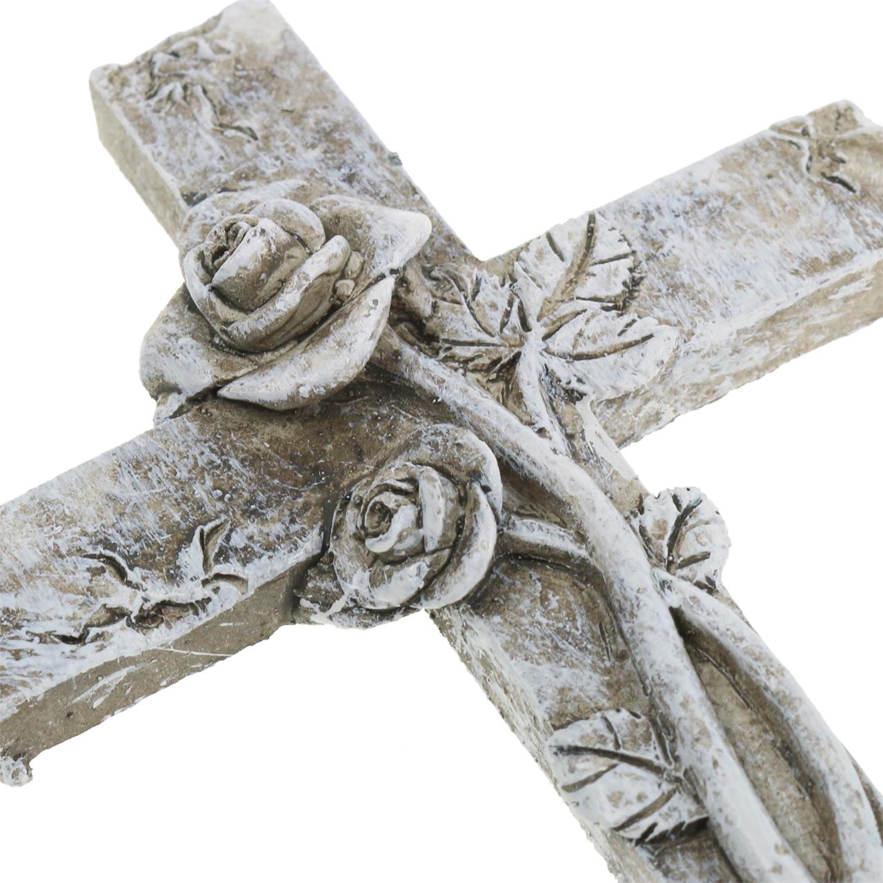 Grabschmuck Kreuz 7,5cm x 11cm 4St