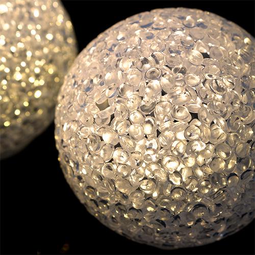 kugel mit beleuchtung gro wei warm 9cm 4st gro handel und lagerverkauf. Black Bedroom Furniture Sets. Home Design Ideas