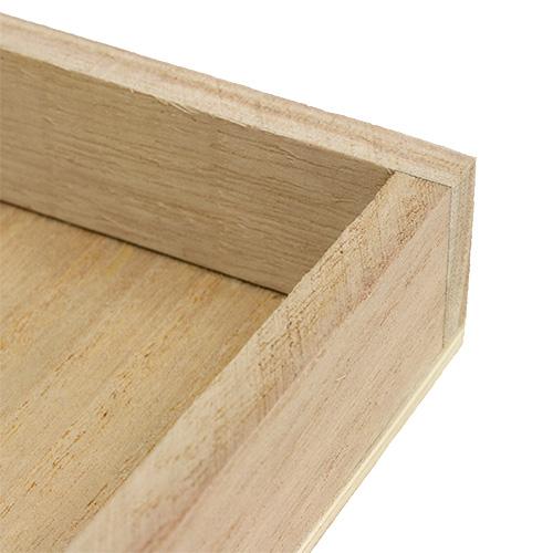 tablett aus holz gro 30cm x 30cm h3cm gro handel und lagerverkauf. Black Bedroom Furniture Sets. Home Design Ideas