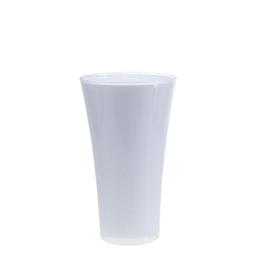 vase fizzy 16cm h27cm wei gro handel und lagerverkauf. Black Bedroom Furniture Sets. Home Design Ideas