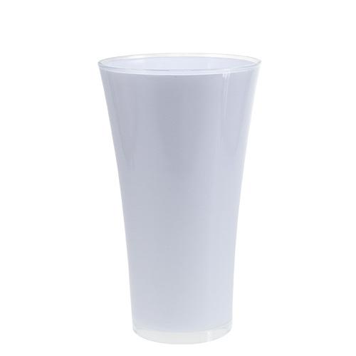 vase fizzy 20cm h35cm wei gro handel und lagerverkauf. Black Bedroom Furniture Sets. Home Design Ideas