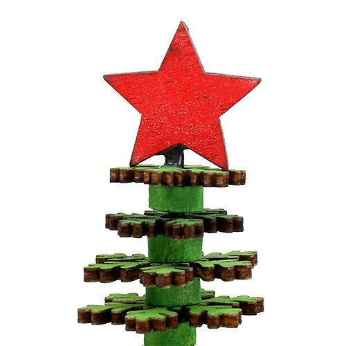 weihnachtsbaum schneeflocken gr n 25cm gro handel und. Black Bedroom Furniture Sets. Home Design Ideas