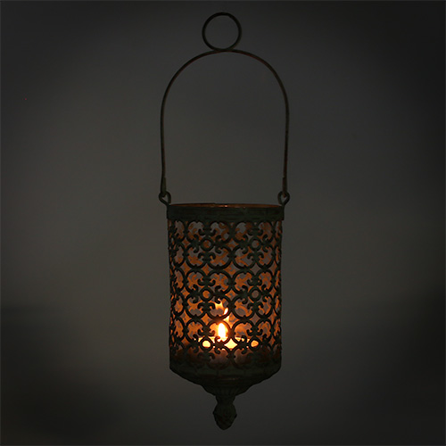 windlicht zum h ngen 9 5cm h20cm gr n 1st gro handel und. Black Bedroom Furniture Sets. Home Design Ideas
