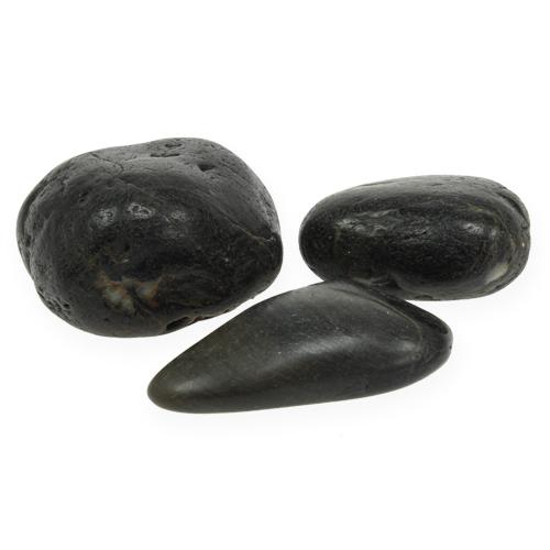 deko steine schwarz 9cm 1kg gro handel und lagerverkauf. Black Bedroom Furniture Sets. Home Design Ideas