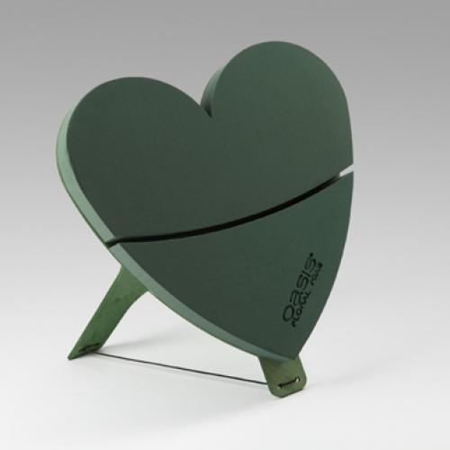 OASIS® Bioline® Deco und Titan Herz 60x60x5,5 cm