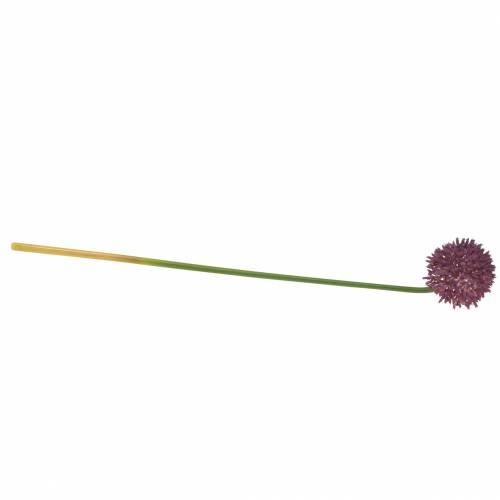 Zierlauch Allium künstlich Lila Ø8cm 58cm