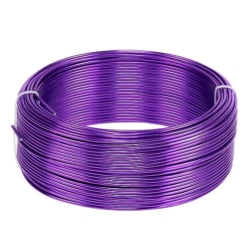 Aluminiumdraht Purple Ø2mm  500g (60m)