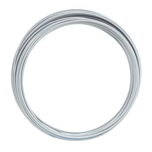 Aluminiumdraht 2mm 100g Weiß