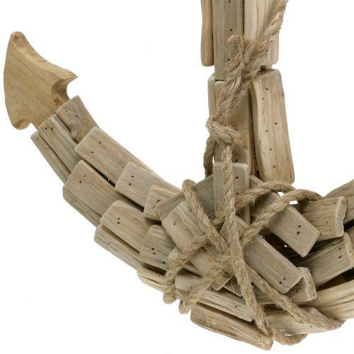 Deko Anker Holz H52cm