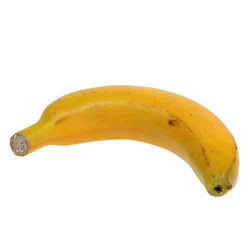Banane künstlich 15cm Orange, Gelb