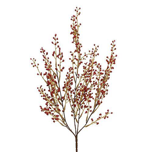 Beerenzweig künstlich Rot 48cm 1St