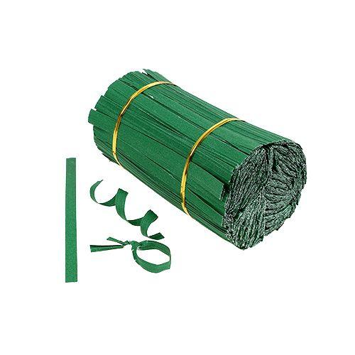 Bindestreifen mini Grün 2er-Draht 15cm 1000St