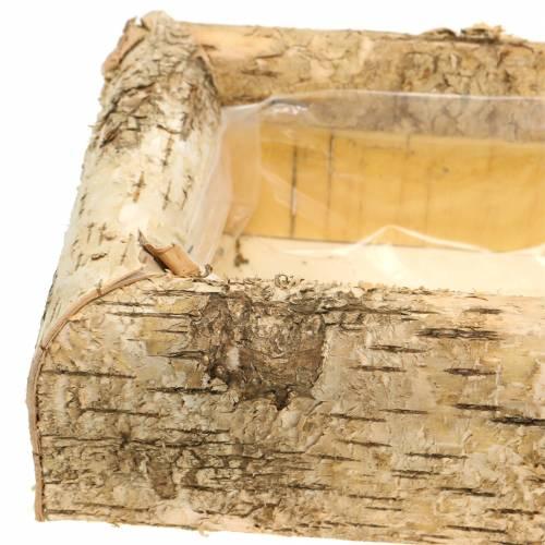 Pflanzgefäß Birke 40cm x 20cm H8,5cm