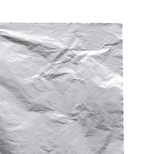 Blattmetall Blätter Silber 100St