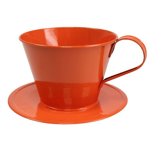 Deko-Tasse Orange Ø16cm H11cm