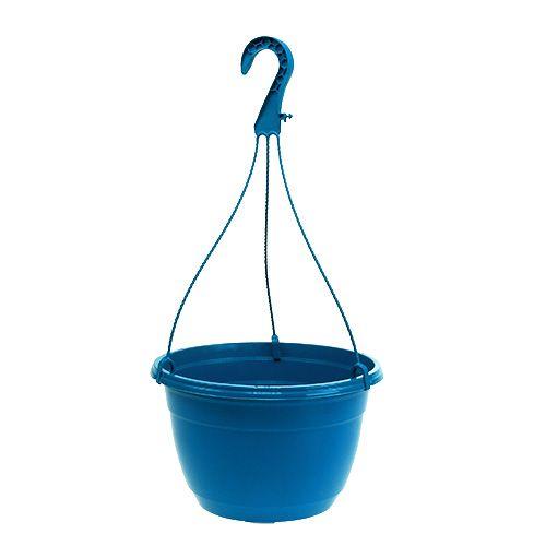 Blumenampel 25cm Blau
