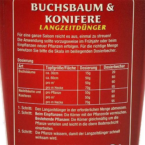 buchsbaum konifere langzeitd nger 300g gro handel und. Black Bedroom Furniture Sets. Home Design Ideas