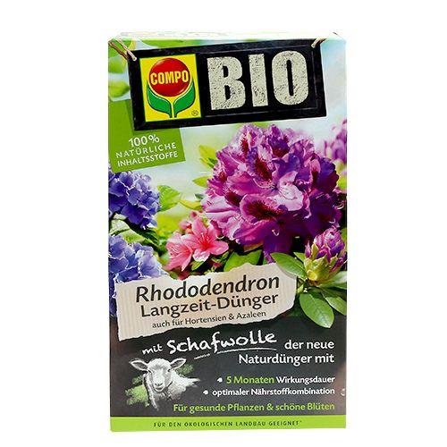 COMPO BIO Rhododendron Langzeitdünger mit Schafwolle 2kg