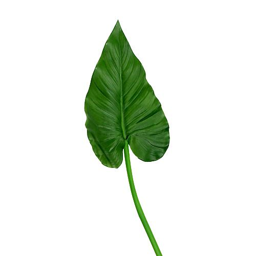 Callablatt künstlich Grün L68cm 4St