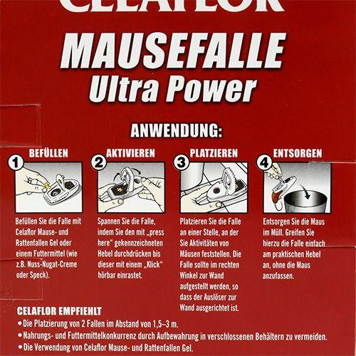 Celaflor Mausefallen Ultra Power 2St