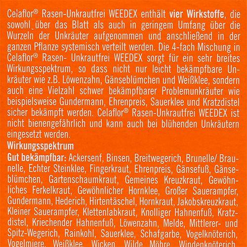 Celaflor Rasen-Unkrautfrei Weedex 400ml