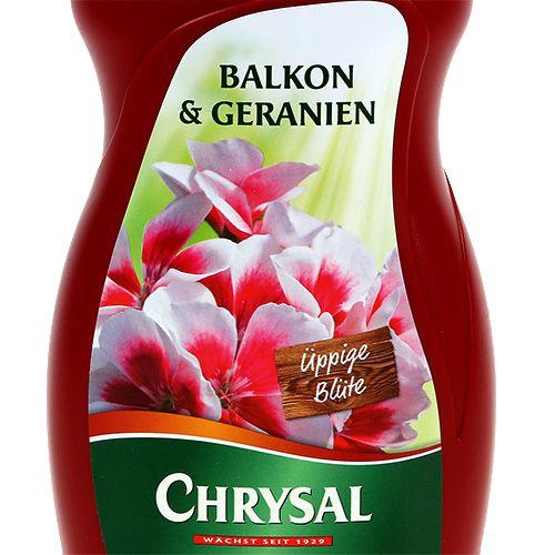 Chrysal Balkon & Geranien 500ml