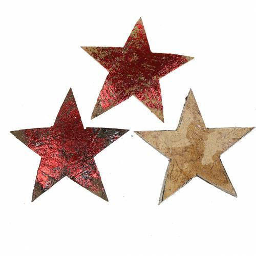 Kokos Stern Rot 5cm 50St