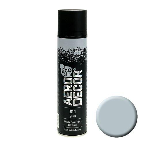 Color Spray Seidenmatt 400ml Grau