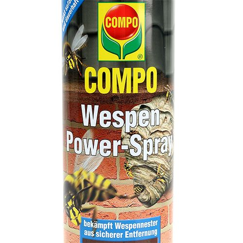 compo wespen power spray 500ml gro handel und lagerverkauf. Black Bedroom Furniture Sets. Home Design Ideas