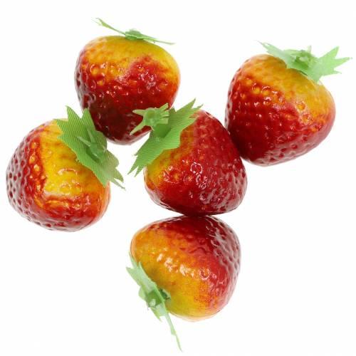 Deko-Erdbeeren 2,5cm 12St