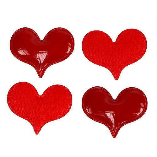 Deko-Herzen zum Streuen 4,5cm Rot 50St