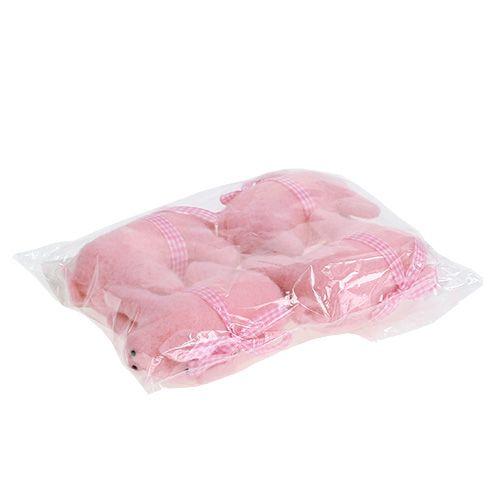 Deko schwein pink 11 5cm 4st gro handel und lagerverkauf for Pink deko