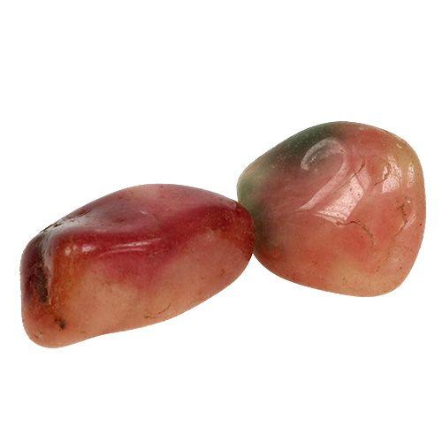 Deko Steine Rosa-Creme glänzend 4cm - 6cm 1kg